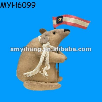 Polyresin American promotional gifts mouse figurine