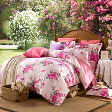 Home Furniture Wholesale Soft Beautiful 100% Cotton Fabric Patchwork Quilted Bed Sheet , Duvet Cover Quilt