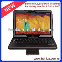 Detachable Touchpad Bluetooth Keyboard for Samsung Galaxy Note 10.1 T520 and P600