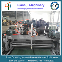 woodworking veneer rotary clipper and Spindleless rotary peeling machine