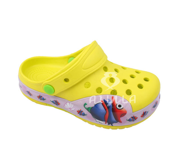 Kid adoroable eva cartoon crocks