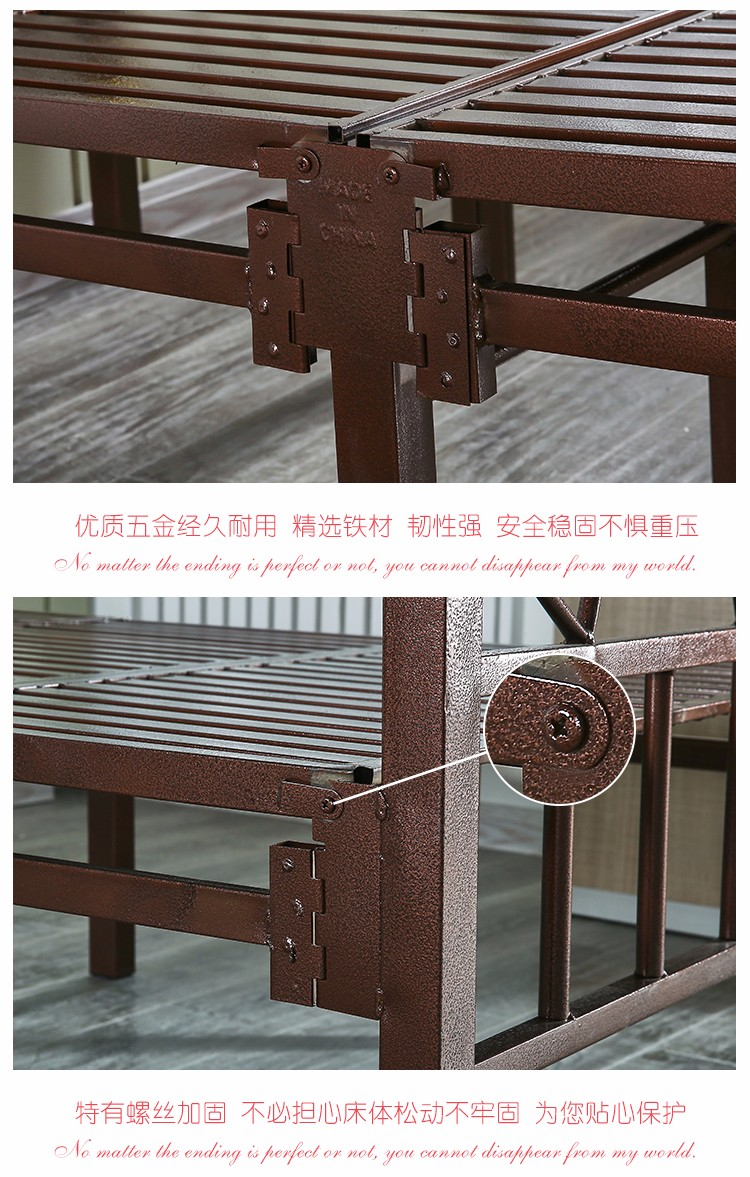 Bazhou Furniture Manufacturers Wholesale Portable Metal Single Folding Bed Buy Metal Single