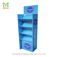 Retail Promotional Customized Pop Corrugated Cardboard Tray Display For Biscuit Snack