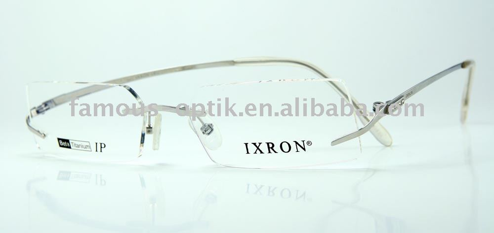 top quality rimless beta titanium eyeglasses eyewear optical frames