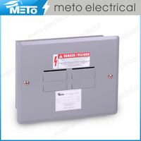 125 amp single phase 3 way outdoor electrical distribution panel box/load center
