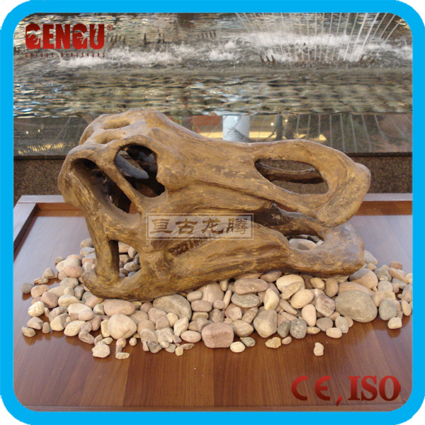 Museum High Quality Life-size Dinosaur Skull For Sale