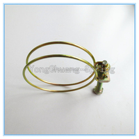 Custom Tension Spring Clips Double Wire Spring Hose Clamp