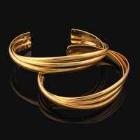 Fashion various 10 gram gold bangles price , bangles wedding chura gold bangles latest designs for Anniversary Gift