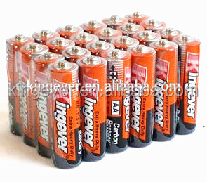 Hot sale r6 size 1.5 volt industrial aa batteries