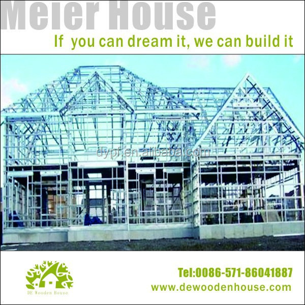 Light Steel Frame Wooden Structure wooden house