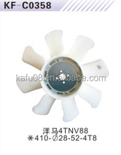 Fan blade for Yanmar 4TNV88 excavator OEM Made in China