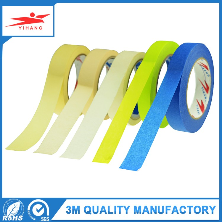 7 Days UV white Painter Masking Tape from China Adesive Manufacturer