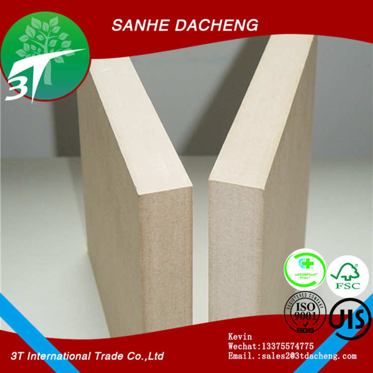 1830*2440*2.7mm mdf board in cheap price