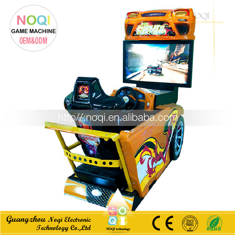 Need for speed carbon car racing game machine,42 inch simulator 3d sonic racing game machine