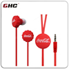 Free Sample Exclusive Shop Earphone Red