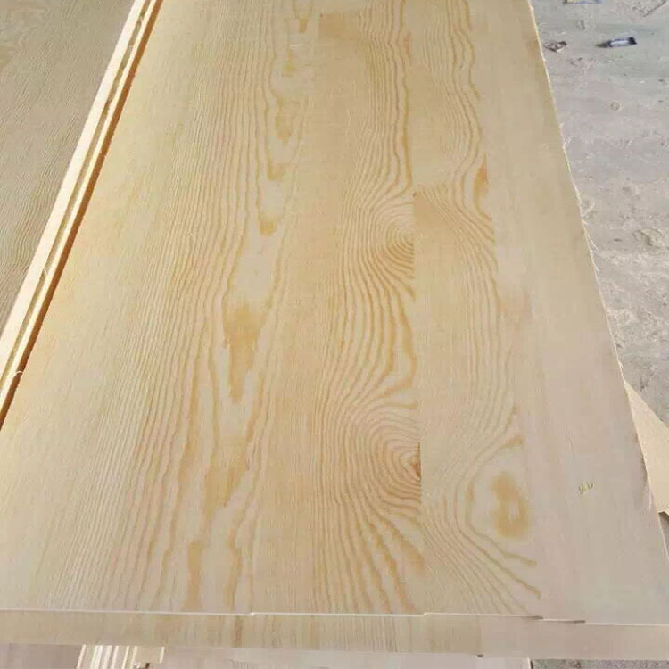 Cheap price finger jointed lumber laminated pine wood sheet board from China