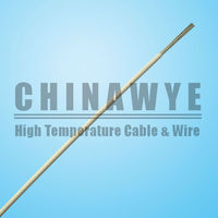 VDE Fiberglass Braided Silicone Rubber House Wiring Electrical Cable