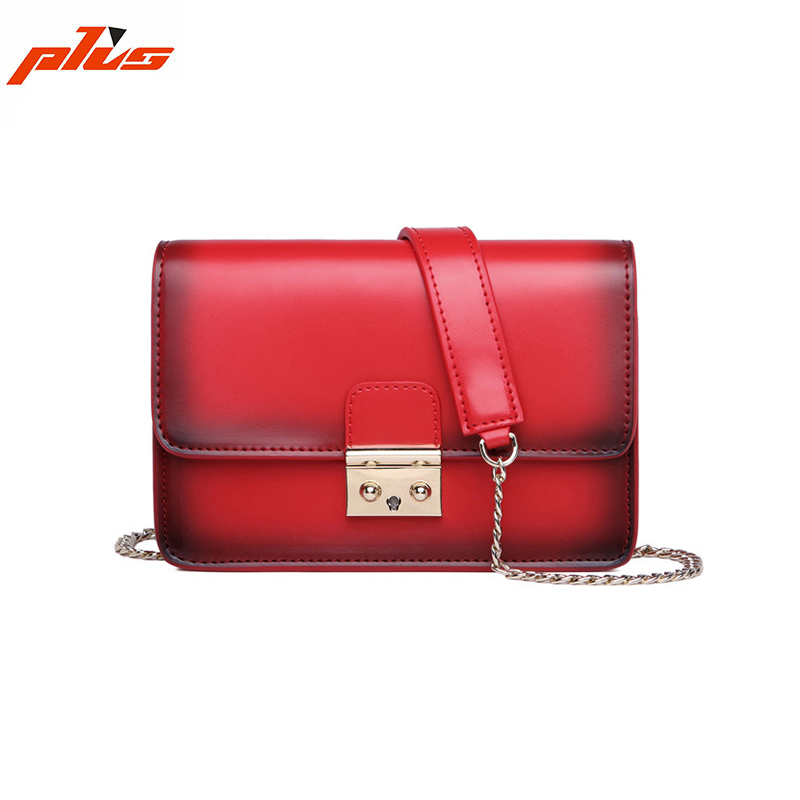 New Trend of Leather Shoulder Bag Small Retro Bag Ladies Leather Shoulder Bag