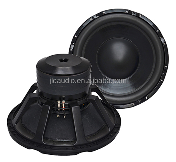 high performance subwoofer 92dB spl > 3000w rms 24 inch subwoofer