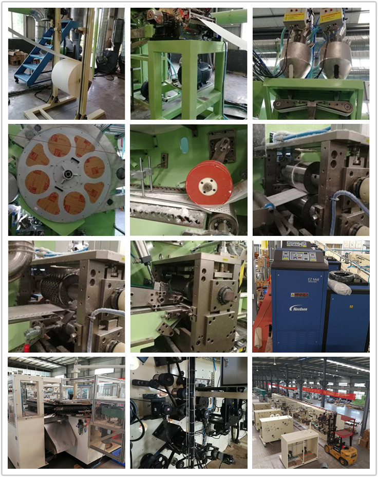 Semi servo adult diaper making equipment