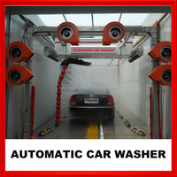 2016 CE new two arms french schneider import automatic car wash machine price