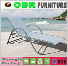 Outdoor furniture mesh lounge chairs