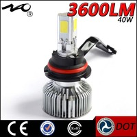 High power LED headlight bulbs replacement of 9004(HB1)9005(HB3)9006(HB4),9007(HB5) 12v 24v led auto light