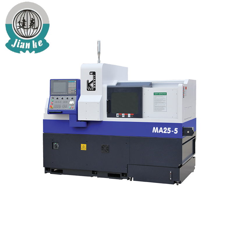 Long shaft 5-axis cnc grinding mass production lathe machine