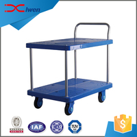 Wholesale OEM cheap metal durable hand push cart trolley