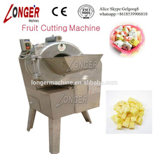 Industrial Fruit Cube Cutting Machine Pineapple Potato Cube Cutter