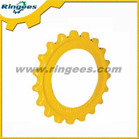 factory price excavator undercarriage parts sprocket for Komatsu PC75 excavator spare part
