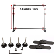Outdoor Two Feet Telescopic Exhibition Banner Stand