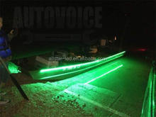 Red, Green, and White Strips for Bass boats, Pontoon, Ski, Canoes, Kayaks, Triton, Ranger, Waterproof Boat Led Strip Lights