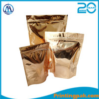 Manufacturing opp/cpp plastic bag for dry food