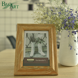 Paper photo bulk picture frames 5x7 wood frames for pictures