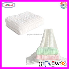 C659 Soft Comfortable Newborn Infant Muslin Gauze Blanket Cotton Warm Baby Swaddle Muslin Blanket