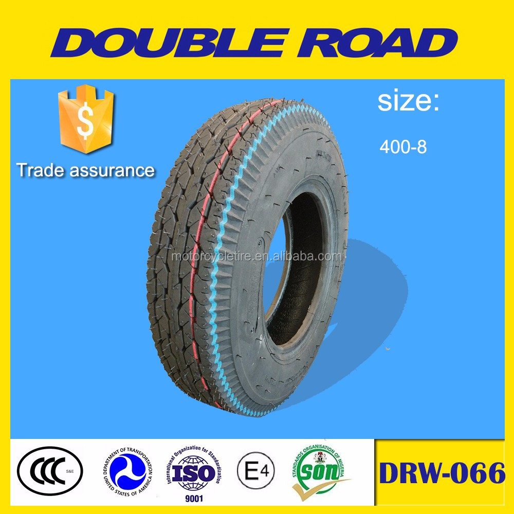 Wholesale shandong factory tricycle motorcycle tire 400x8 8pr