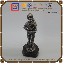 Decorative Resin Brass Figurine Custom Solider Figurine