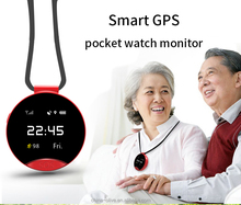 GSM quad-band two-way calling Global SOS alarm reminder GPS mobile phone pocket watch
