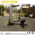 Truss Stand Lifter 8m, Loading 300kg Top Quality Hot Sale Speaker Lifting Tower