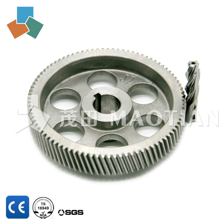 China supplier oem electric buggy reducer of worm gear set fixed / small tolerances gears / chain drive axle