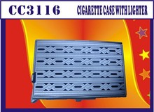 Professional Factory Supply best promotional cigarette box with lighter