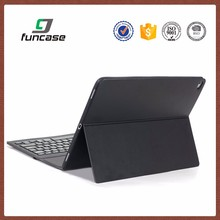 New arrival high quality flip cover case for tablet leather 13.3inch tablet pc leather keyboard case