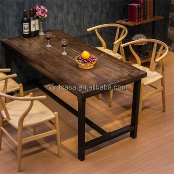American Country Style Vintage Industrial Furniture Old Dining Table Recycled Wood Furniture View Vintage Industrial Furniture Nordcasa Product