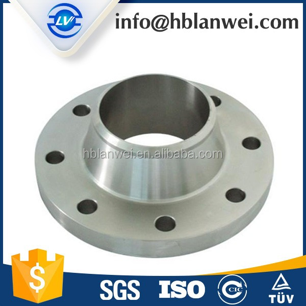 ASME B16.5 slip on carbon steel pipe flange with holes