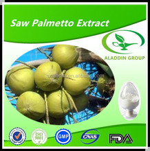 100% natural plant extract Saw Palmetto Fruit Extract