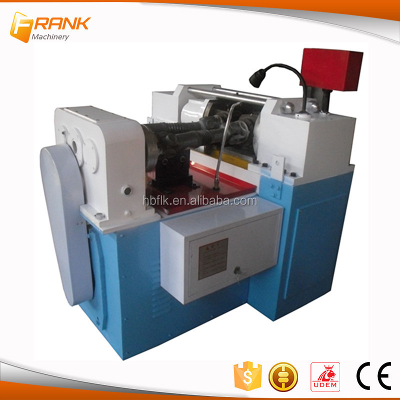 Frank Construction Machinery Rebar Rolling Threading Machine