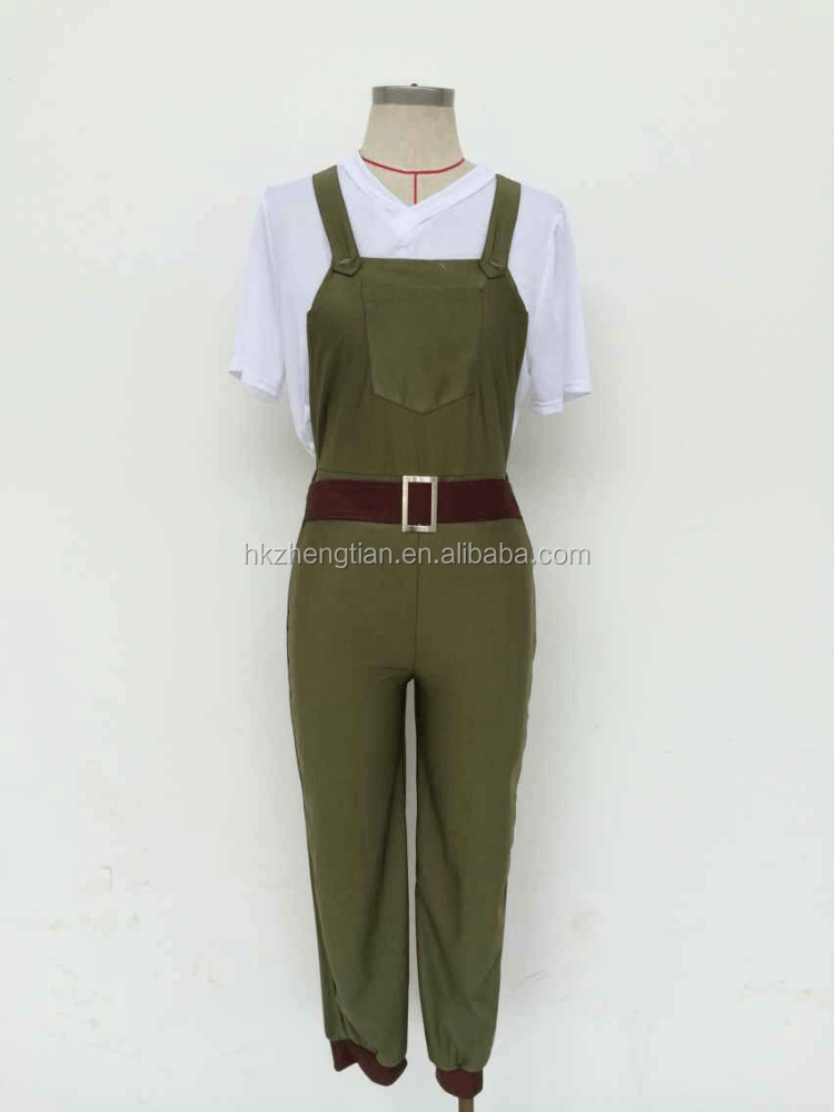 Instyles Quanzhou Ladies Large 1940s Land Girl Womens Army World War 2 Fancy Dress Costume M XL