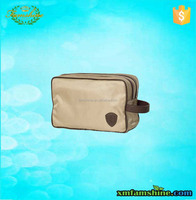 fashion recycle 600d polyester cosmetic bag for man