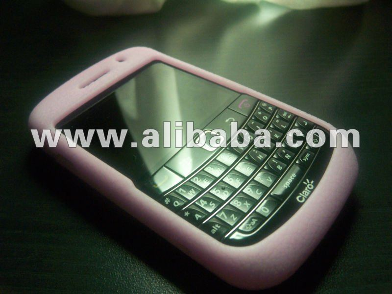 UV Change Color Silicon Case Cover for Black Berry 8520-9780
